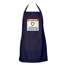 Agnostic / Argue Apron (dark)