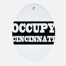 Cincinnati Ornament (Oval)
