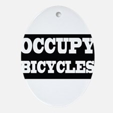Bicycles Ornament (Oval)