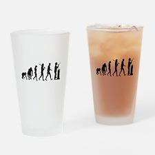 Welding Evolution Drinking Glass