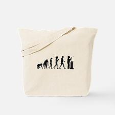 Welding Evolution Tote Bag