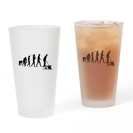 Pool Cleaner Drinking Glass