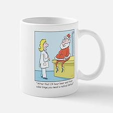 Time for Santas Diet Mug