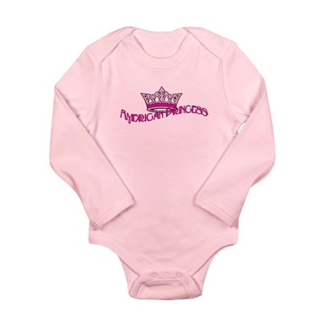 American Princess Long Sleeve Infant Bodysuit