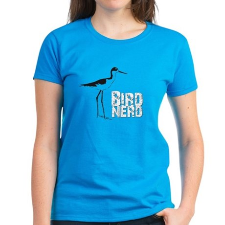 Bird Nerd (Stilt) Women's Dark T-Shirt
