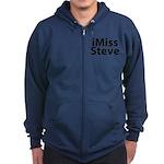 iMiss Steve Zip Hoodie (dark)