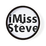iMiss Steve Wall Clock