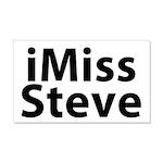iMiss Steve 22x14 Wall Peel