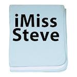 iMiss Steve baby blanket