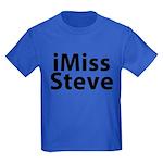 iMiss Steve Kids Dark T-Shirt