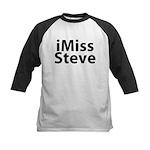 iMiss Steve Kids Baseball Jersey