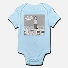 Ghost Comedian (no text) Infant Bodysuit