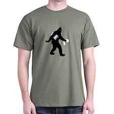 Bigfoot Surprised T-Shirt