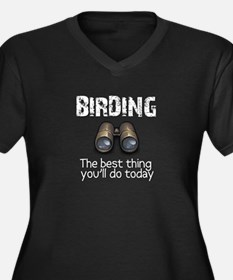 Birding: the best thing you'l Women's Plus Size V-