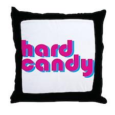 HARD CANDY Throw Pillow