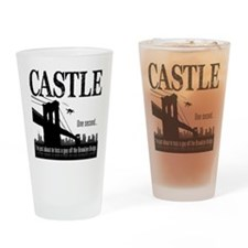 Castle Bridge Toss Drinking Glass