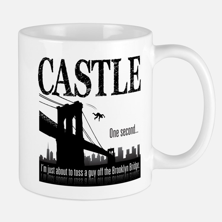 Castle Bridge Toss Mug