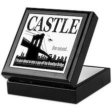 Castle Bridge Toss Keepsake Box
