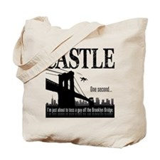 Castle Bridge Toss Tote Bag