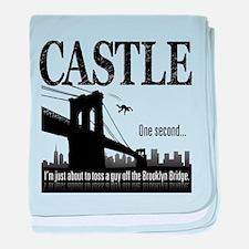 Castle Bridge Toss baby blanket