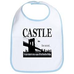 Castle Bridge Toss Bib