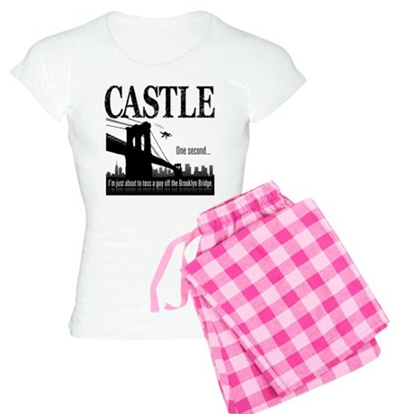 Castle Bridge Toss Women's Light Pajamas