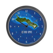 Mount Athos - Wall Clock
