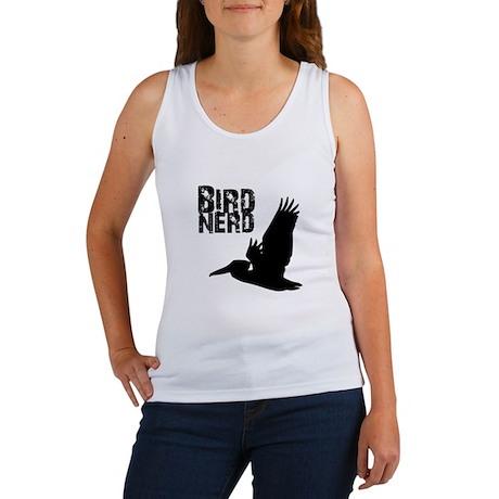 Bird Nerd (Pelican) Women's Tank Top