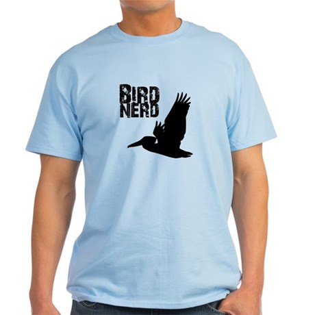 Bird Nerd (Pelican) Light T-Shirt