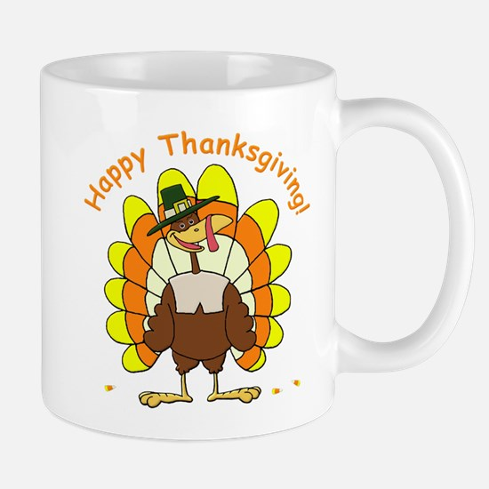Candy Corn Turkey Mug