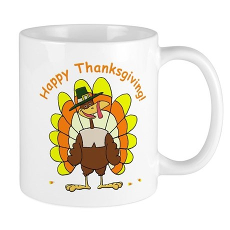Candy Corn Turkey Mug