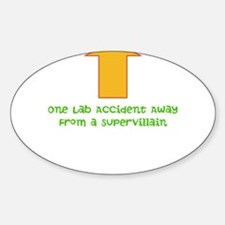 Lab Accident Decal