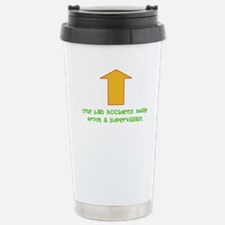 Lab Accident Stainless Steel Travel Mug