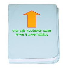 Lab Accident baby blanket