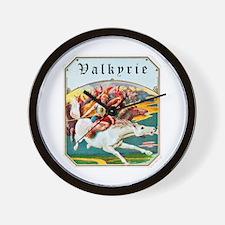 Valkyrie Cigar Label Wall Clock