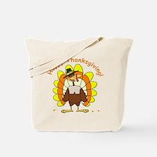 Candy Corn Turkey Tote Bag
