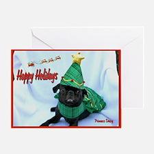 Daisy Tree Greeting Card