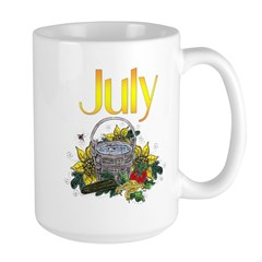 Water Bucket 'n' Veggies July Mug