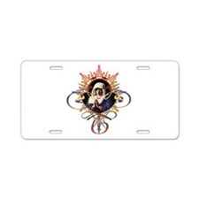 Pray the Rosary Aluminum License Plate