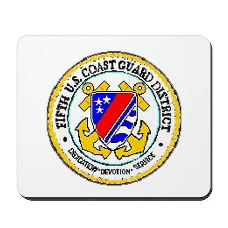 Fifth Coast Guard District Mousepad
