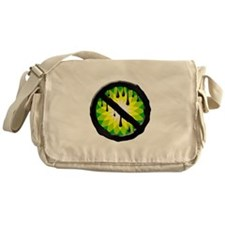NO BP NO DRILL NO SPILL Messenger Bag