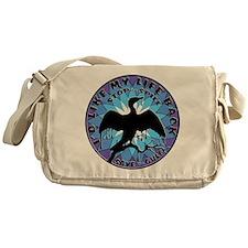 Life Back Black Gold BP Messenger Bag