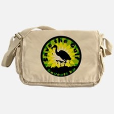 Save the Gulf Boycott BP Messenger Bag