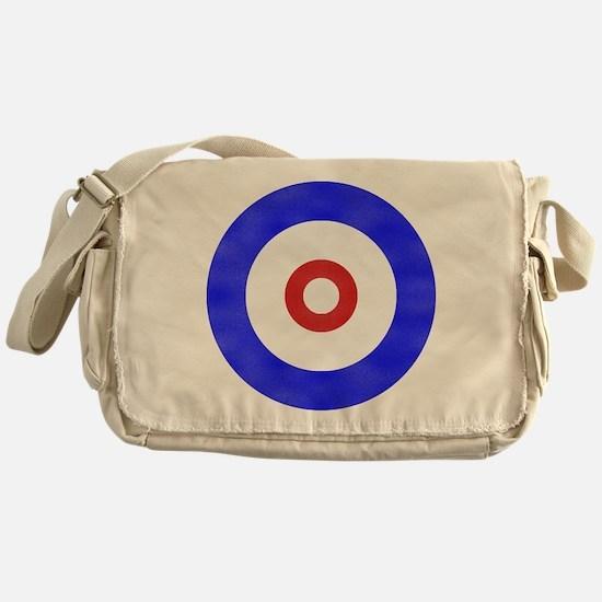 Curling Circle Ice Messenger Bag