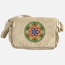 Disc Basket Circle Star Messenger Bag