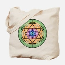 Disc Basket Circle Star Tote Bag