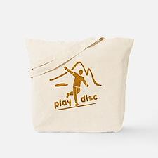 Disc Golf Launch Rust Tote Bag