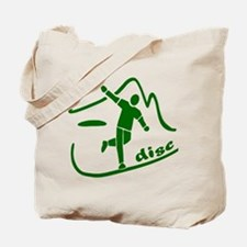 Disc Launch Green Tote Bag