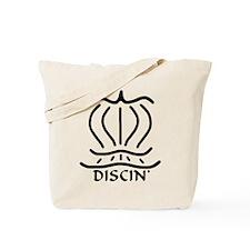 Asiatic Disc Design Tote Bag