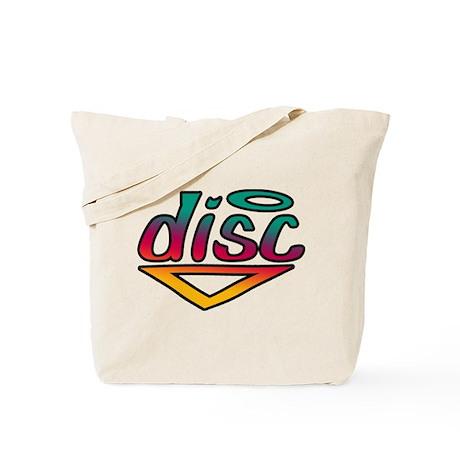 Disc Golf Text Shape1 Tote Bag